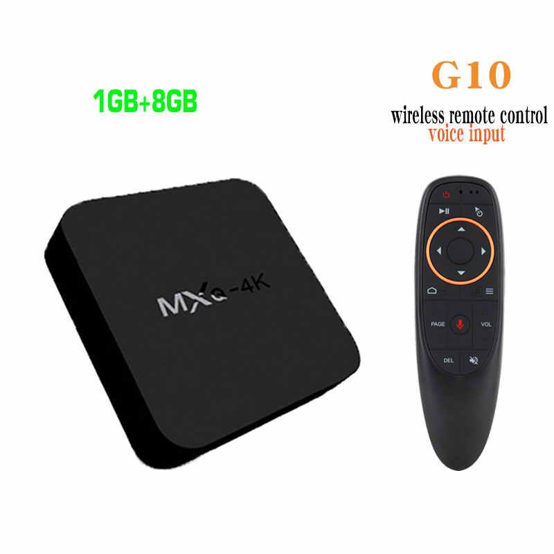 MXQpro 4K 2GB 16GB Smart Android TV Box 7 1 S905W Amlogic