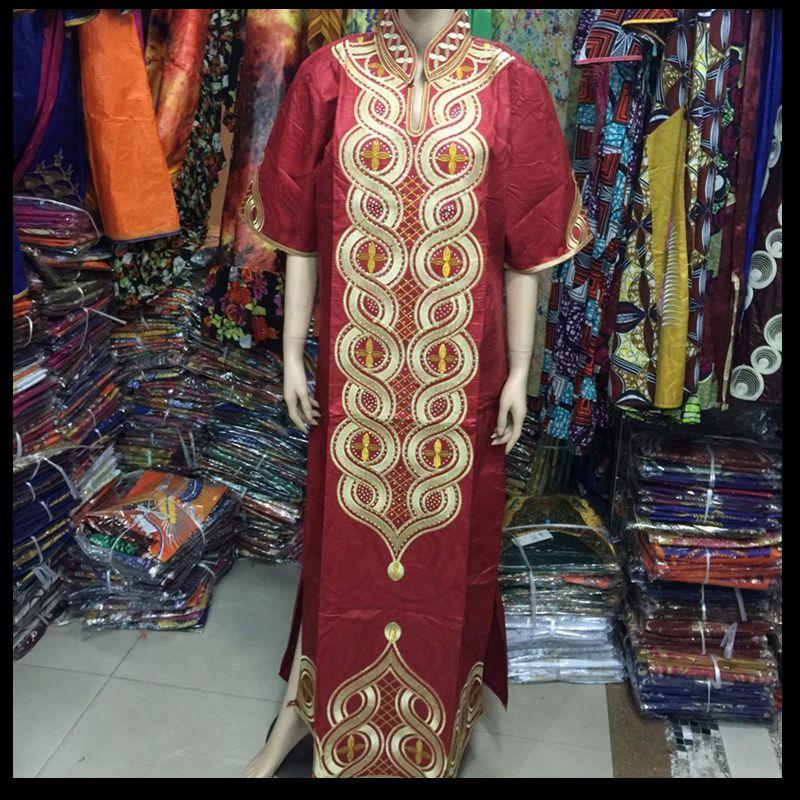 Artı Boyutu kadınlar için afrika giyim afrika Baskı Pamuk uzun - Ulusal Kıyafetler - Fotoğraf 4