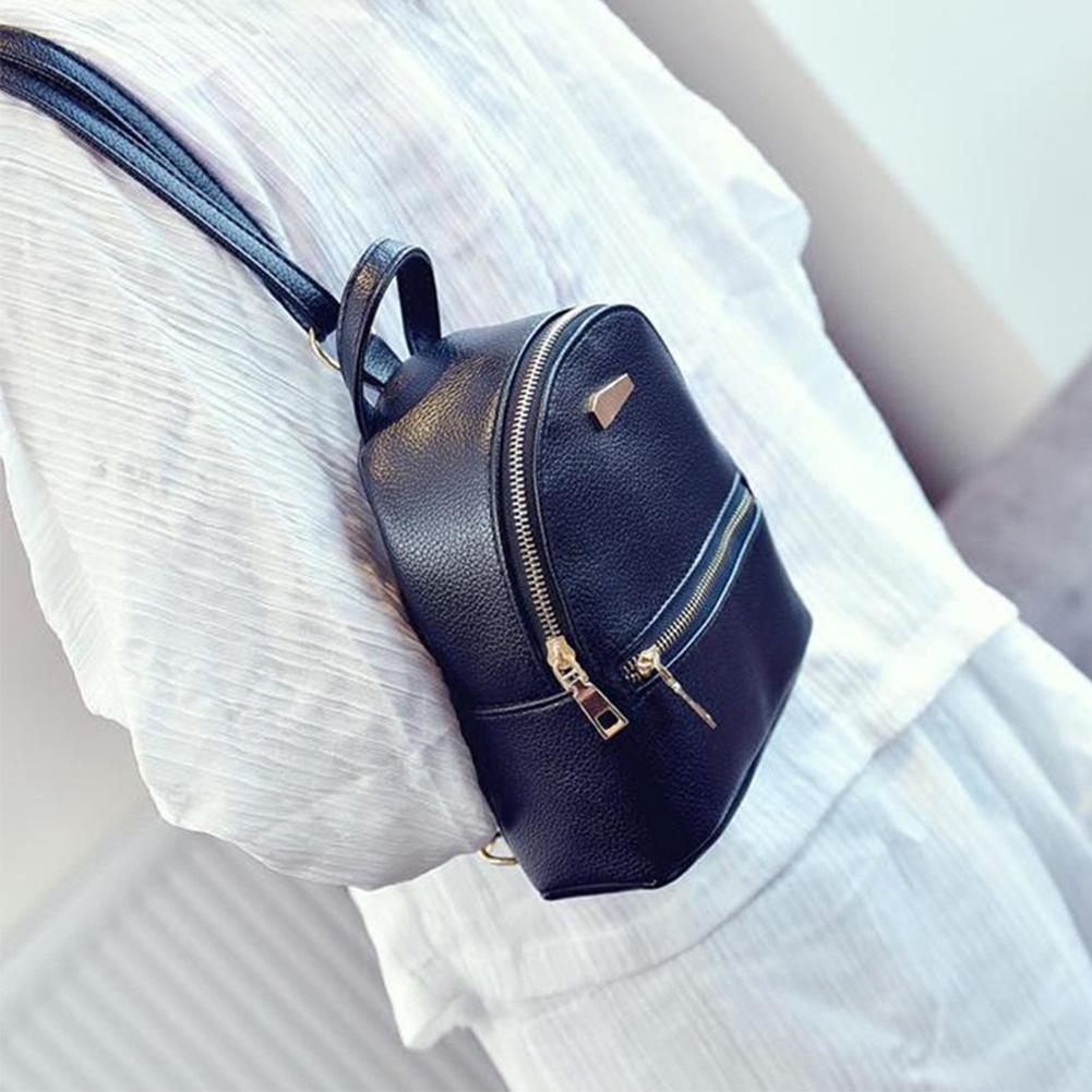 HTB1BQjvXBiE3KVjSZFMq6zQhVXa7 Hot Fashion Women Girls Mini Backpack Leather Shoulder School Rucksack Ladies Holiday Travel Bag 2019 New