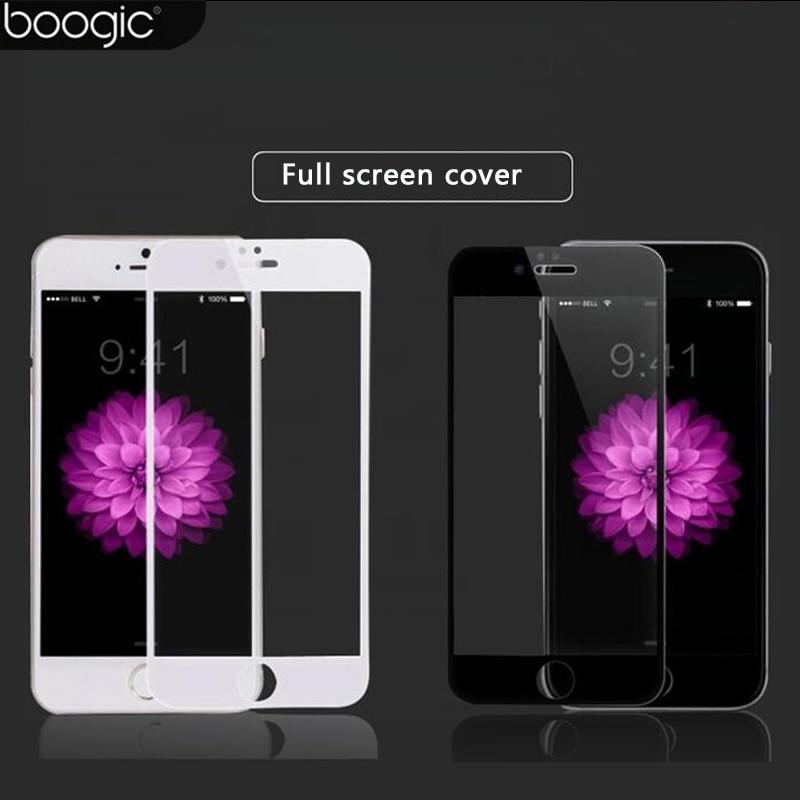 2 STK Helskärmskydd för iPhone 6 6s 6 plus härdat glas 9H 0.26mm - Reservdelar och tillbehör för mobiltelefoner - Foto 1