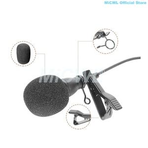 Image 4 - שחור C55 גדול Lavalier מיקרופון עניבת קליפ דש מיקרופון עבור Sennheiser אודיו טכניקה MiPro AKG Shure שמשון Cardioid טוב מיקרופונים