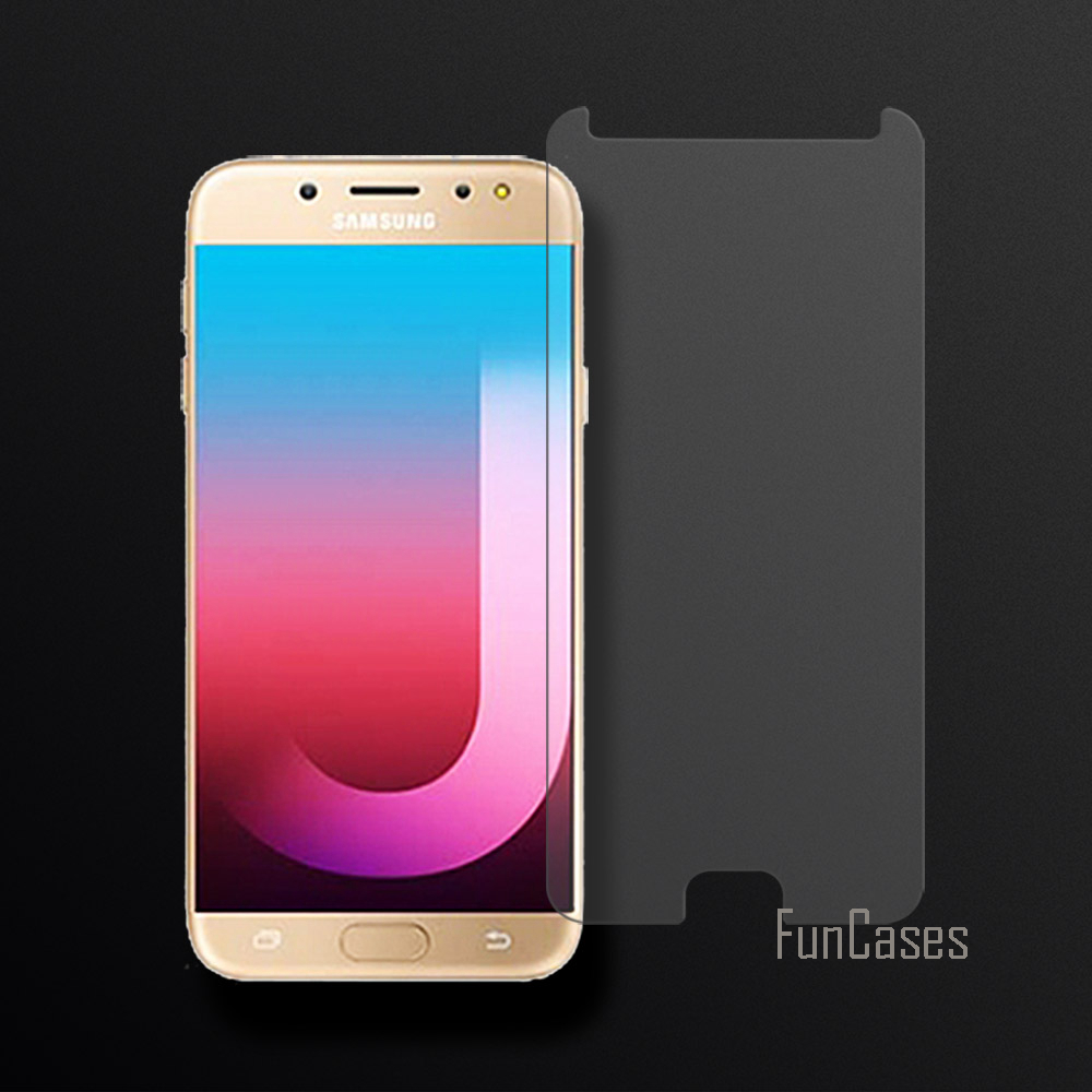 Tempered Glass For Samsung Galaxy J7 Pro Screen Protector Film For Samsung Galaxy J7 Pro 2.5D Curved Edge Screen Front Film 0.26