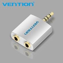 Vention-Divisor de Cable de Audio 3,5mm, divisor Universal de 1 macho a 2 hembra para auriculares de Audio, Cable divisor de auriculares con doble conector
