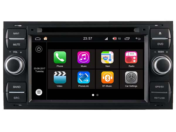 S190 Android 7 1 CAR DVD player FOR FORD FUSION 2005 2009 FIESTA 2005 2008 car