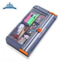Paper-Cutter Stationery-Organizer Desk-Accessories Office-Supplies Storage-Box Multi-Function