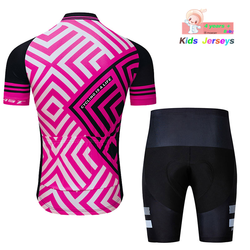2019 Rudy Team Cycling Jersey Set Short Sleeve Quick Dry Jerseys Ropa  Ciclismo Bike Bicycle Clothing Kids MTB Summer Cycling Kit-in Cycling Sets  from Sports ... bcb385c3d