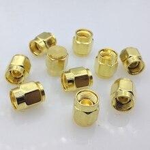 SMA Dust cap SMA metal protective cap Metallic golden 10pcs/lot