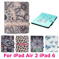 Colorful Tablet PC Case for Apple iPad Air2 Air 2 iPad 6 Anti-Dust Drop Resistance Waterproof Cover Shell Protective Skin Bag