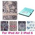 Colorido tablet pc case para apple ipad air2 air 2 tampa do ipad 6 anti-poeira resistência queda à prova d' água shell protetora da pele saco