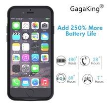 Чехол для зарядного устройства Gagaking 5000 мАч 7200 мАч для iPhone 6/6 S/6 P/6SP/7/7 P/8/8 P power Bank чехол для внешнего аккумулятора