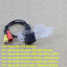 170 Degree CCD Car Rear View Reverse Backup Parking Camera For Hyundai i30 Elantra Solaris Verna Soul Waterproof Night Vision