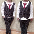 1-3 Years Old Kid Boys Clothes Autumn Baby Boys Clothing Sets Newborn Baby Clothes Spring Gentleman Infant Baby Shirt+Trousers