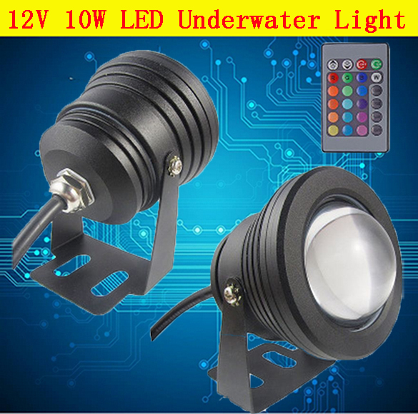 10w Dc12v Underwater Led Light Pool Led Cool White Warm White Underwater Pool Lamp For Fountain Lighting Free Shipping A Complete Range Of Specifications Lights & Lighting