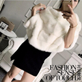 Mink coat whole mink fur coat  bat shirt female