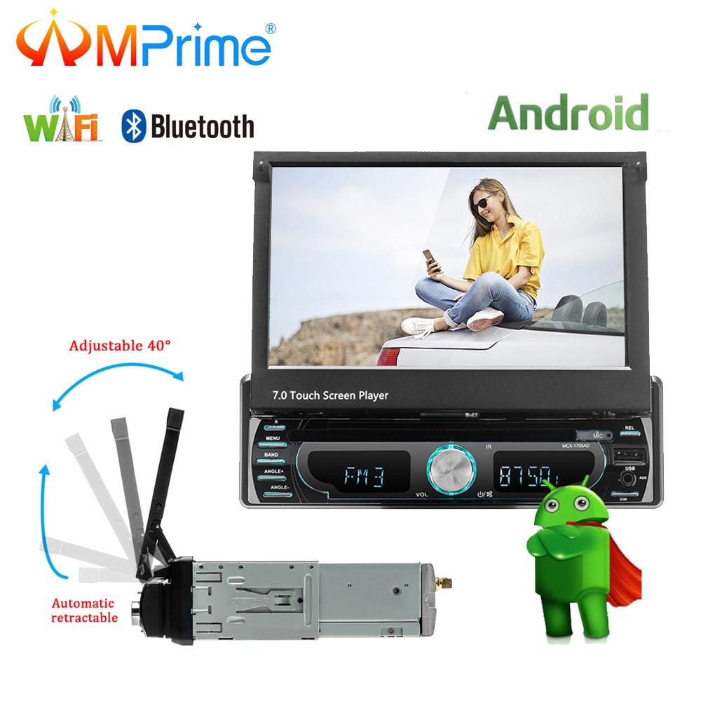 AMPrime 1Din Auto radio Android 7