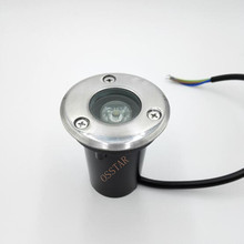 Wholesale 2014 new type ground buriedlight 3w IP68 CE&RoHS warm light cool ourdoor led lighting AC85~265V/DC12V/24V