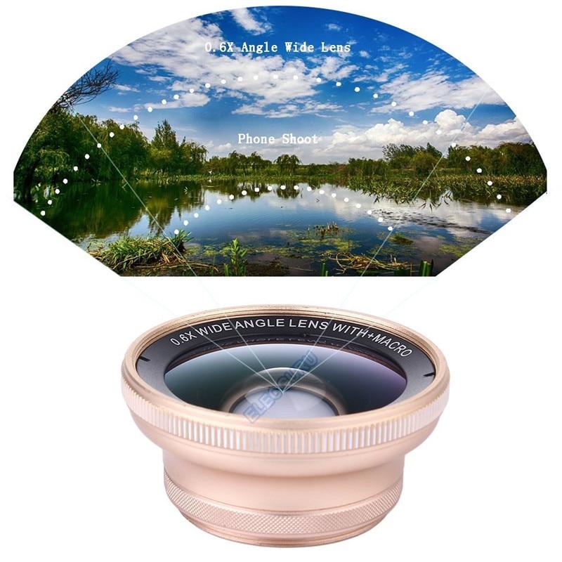 Kit universel d'objectif de caméra télescope Zoom optique HD 18x pour Iphone 7 6 S 0.6X grand Angle 15X objectif Macro pour Samsung S8 S7 edge - 2