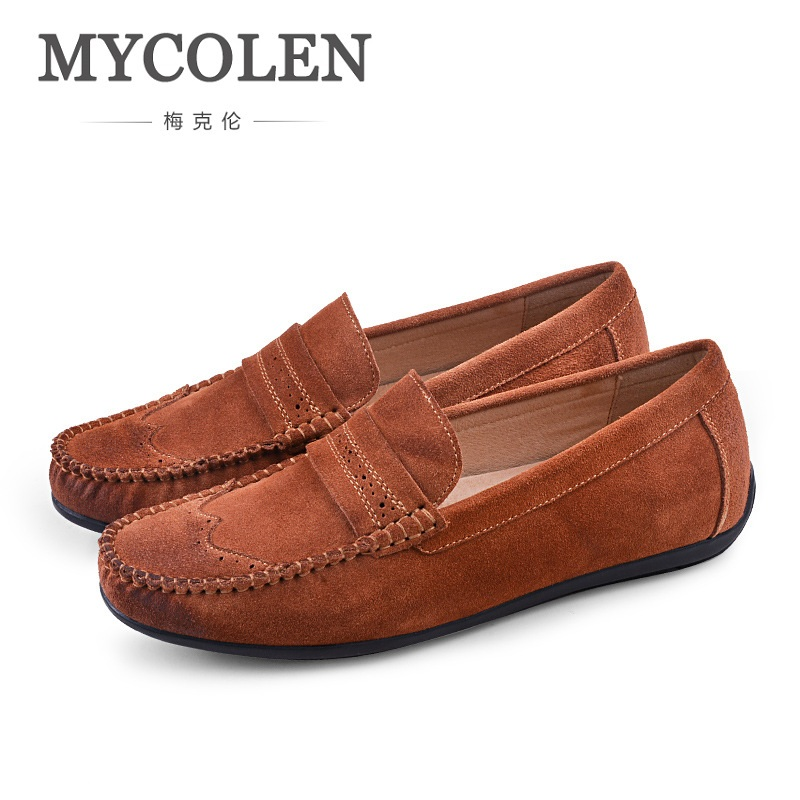 MYCOLEN Spring And Summer Men Casual Shoes Slip On Fashion Driving Shoes Mens Loafer Moccasins Zapatos Para Hombre Casual