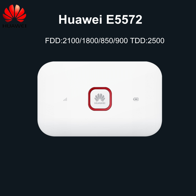 Original Unlocked 3G 4G LTE Mobile WiFi Wireless Router with SIM Card Slot Huawei E5572