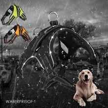 Huisdier Producten voor Grote Hond Harnas Verstelbare Led Kraag Puppy Lood Huisdieren Vest Hond Leads Accessoires Chihuahua Hond Levert