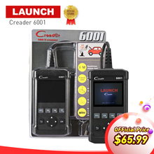 Launch obd2 code reader CR6001 auto scanner 2.8 inch display car diagnostic scan tool Creader 6001 Scanner lifetime free update
