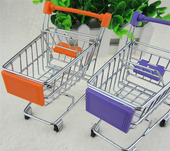 New Baby toy Simulation Mini Shopping Cart Baby toy Free shipping resin kits 1 35 stalingrad s 3011 russian refugees with cart set indue 4 figures cart horse and possess free shipping