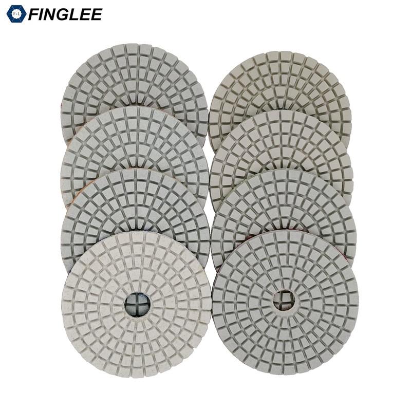 5 pz / lotto 3 pollici / 80 mm granito, marmo, cuscinetti di - Utensili elettrici - Fotografia 4