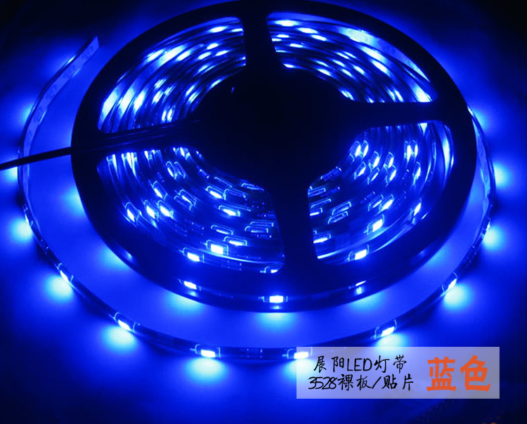 Led strip 3528 in42patients soft light strip 12v60 lamp blu ray showcase kitchen cabinet ...