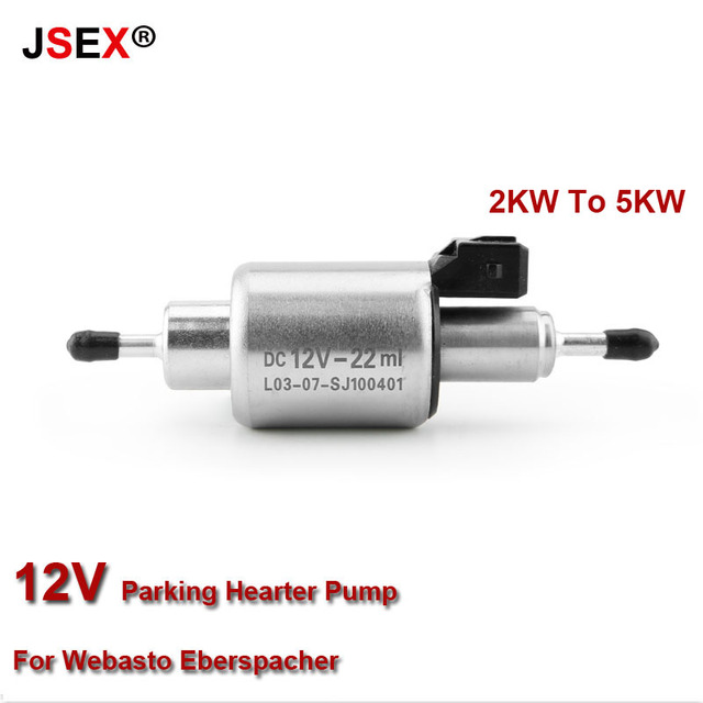 Auto Car Oil Fuel Pump 12V For 2KW to 5KW For Webasto Eberspacher Heaters High Quality
