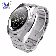 Zw35 smart watch runden bildschirm herzfrequenz schrittzähler bluetooth smartwatch reloj inteligente anti-verlorene für ios android pk q18 u8
