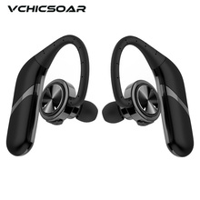 Vchicsoar X1 TWS Twins True Wireless Earphones Bluetooth Headphones IPX6 Waterproof Stereo Earbuds Headset with Bluetooth V4.2