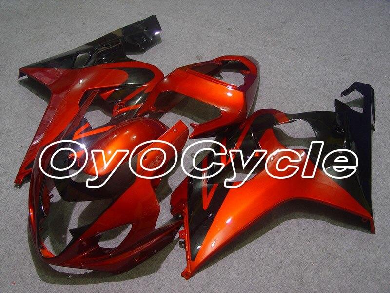 For 04-05 Suzuki GSXR600 GSXR750 K4 GSXR 600 750 Injection Motorcycle ABS Fairing Bodywork Kit 2004 2005 OrangeFor 04-05 Suzuki GSXR600 GSXR750 K4 GSXR 600 750 Injection Motorcycle ABS Fairing Bodywork Kit 2004 2005 Orange
