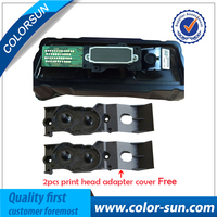 For Epson Mutoh Mimaki Roland DX4 Eco Solvent Print Head Two Adaptor Bonus On High Quality