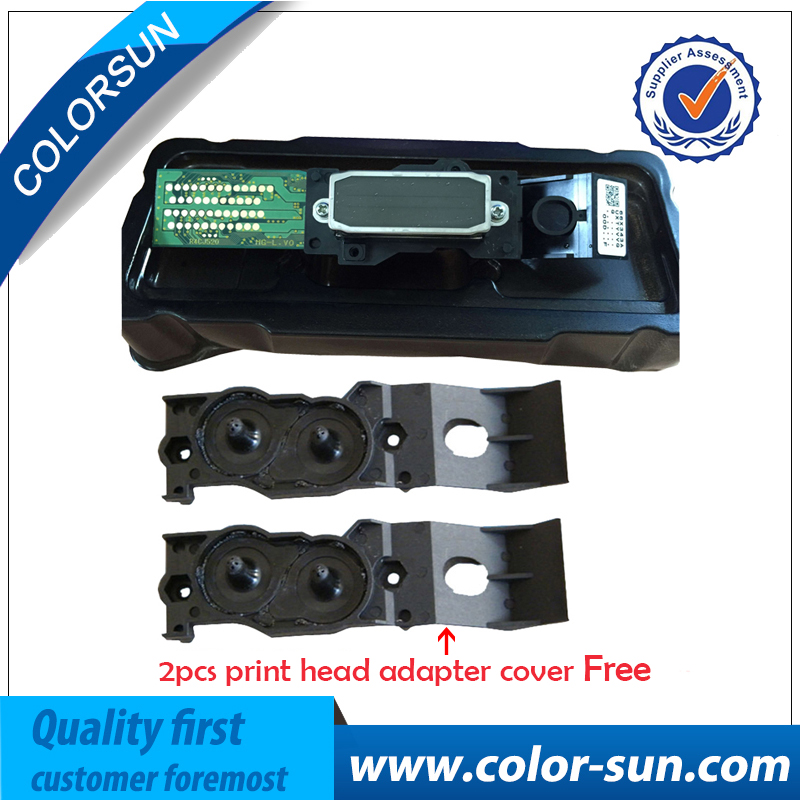 High Quality For Epson Mutoh Roland DX4 For Mimaki JV2 JV4 JV3 Eco Solvent Print head+Two Adaptor Cover Free for DX4 Printhead for roland fj540 fj740 fj640 rs640 sj540 sj740 sj640 eco solvent printhead for dx4