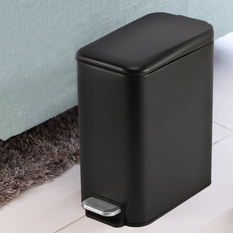 Garbage Trash Can Waste Basket Trash Rubbish Bin Kitchen Bedroom Bathroom 5l Trash Cans Wastebaskets Home Garden Worldenergy Ae