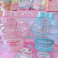 1 шт. розовый/синий мило лук торт Форма экономия денег поле прозрачный Пластик случае монеты копилка Baby Shower вечере Дети подарок