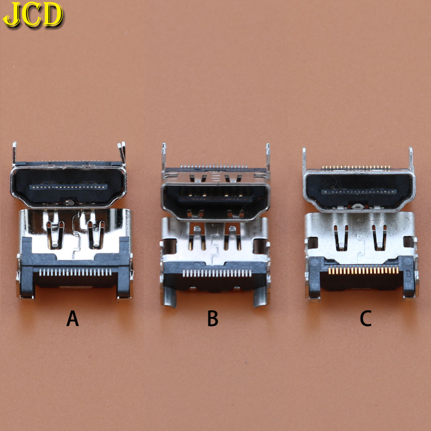 Image 2 - JCD 1pcs For Sony Playstation 4 for PS4 HDMI Port Socket Interface Connector slot replacement-in Replacement Parts & Accessories from Consumer Electronics