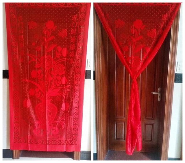 Merveilleux 2pcs Wholesale Thick Cloth Door Partition Curtain Dust Proof Design Summer  Prevent Mosquito Curtain Screen Factory