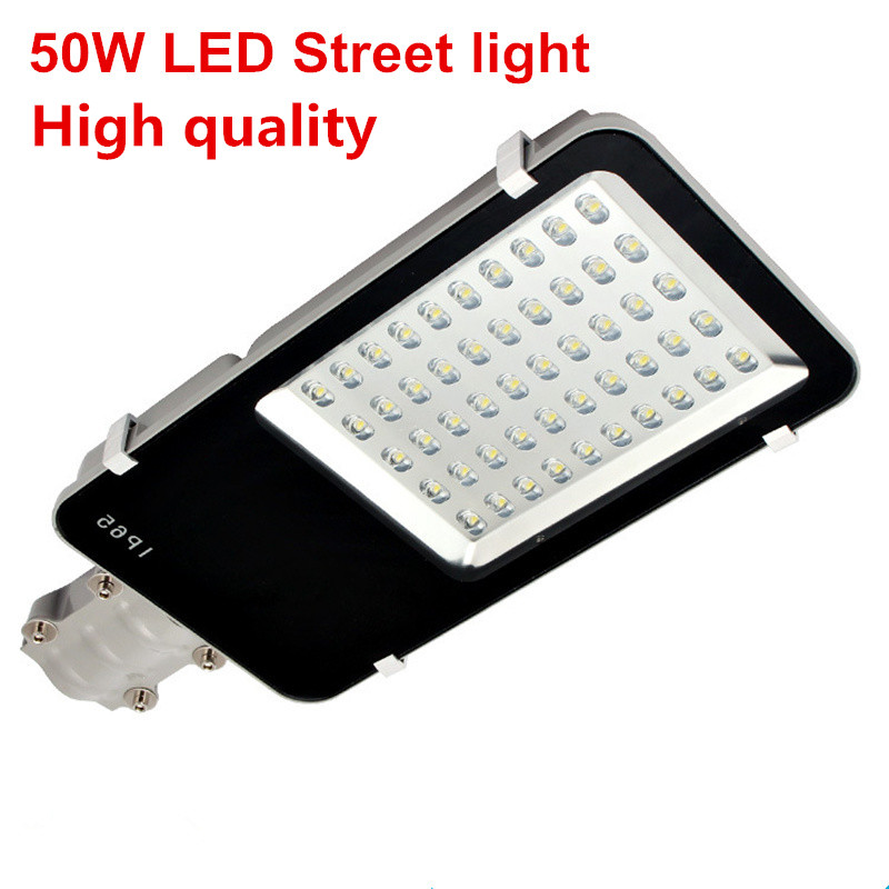 Ultra Bright LED Street light 50W DC12V DC24V Aluminum LED Flood light AC85-265V LED Road light Street light ultra light ночник медведь зоо led 0 5вт ultra light зелёный