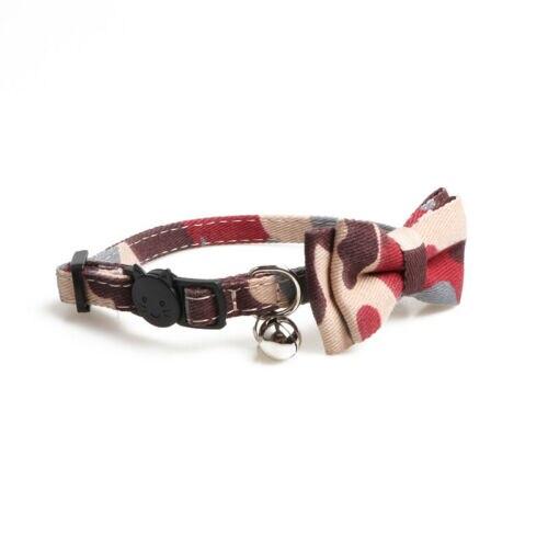 Fashion Dog Cat Pet Puppy Kitten Toy Lattice Bow Tie Necktie Collar Clothes Cute