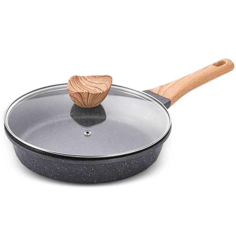 Pan Non-stick Frying Pan Small Household Steak Omelette Pot Induction Cooker Wok Pots And Pans Frying Pan Wok Cast Iron Pan Wok
