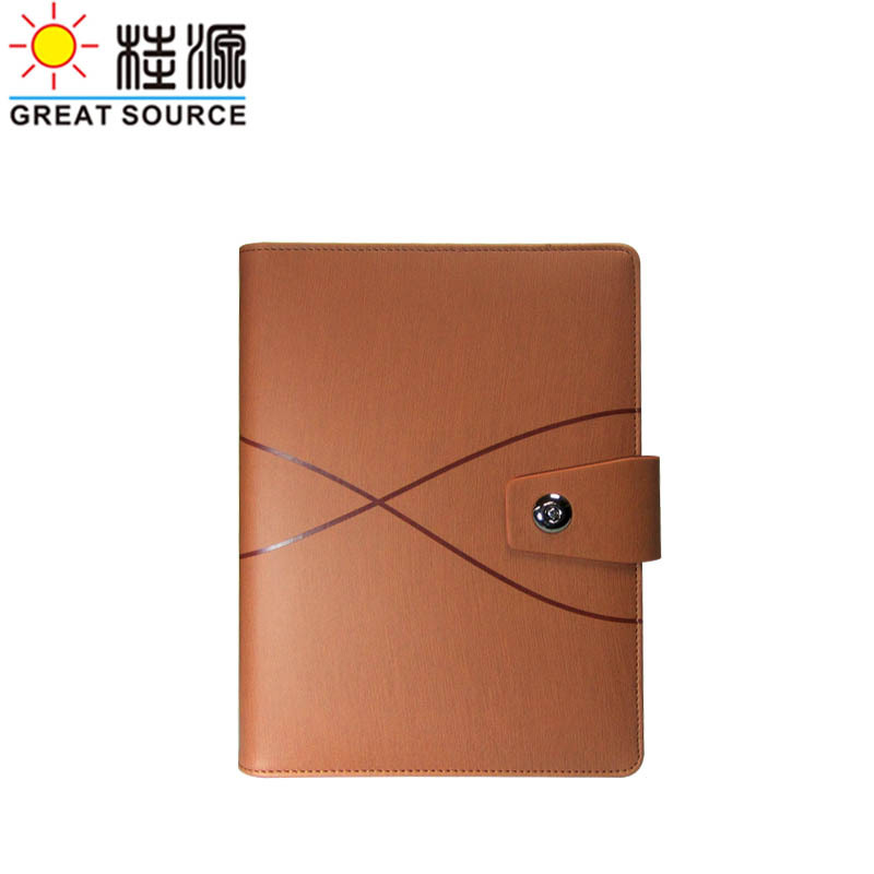 Кожаная папка-скоросшиватель для блокнота А5, деревянная прожилка, Кожаная Обложка, прозрачная ручка, сумка, цветная наклейка, мягкая линейка, подарочный набор - Цвет: Orange yellow