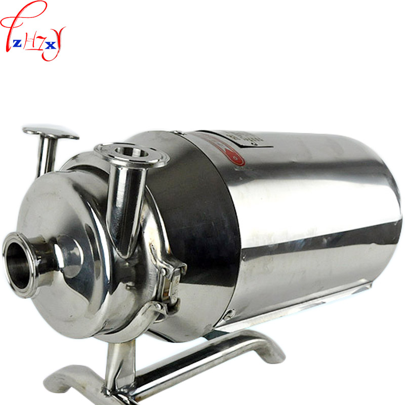 Stainless steel Sanitary centrifugal pump delivery of liquid sanitation pumps 1T sanitary beverage milk delivery pump 220V dn19 manual sanitary aseptic sampling valve