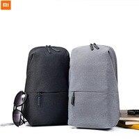 Original Xiaomi Schultertasche Crossbody Tasche 4L Kapazität Für Reise Reißverschluss Stil Design Für Mann Frau Casual