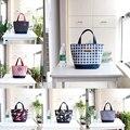 Японский мешочек маленькая ручная сумка Зеленый Холст сохранение тепла Ланч-бокс сумка для мужчин и женщин шоппинг Mama сумка