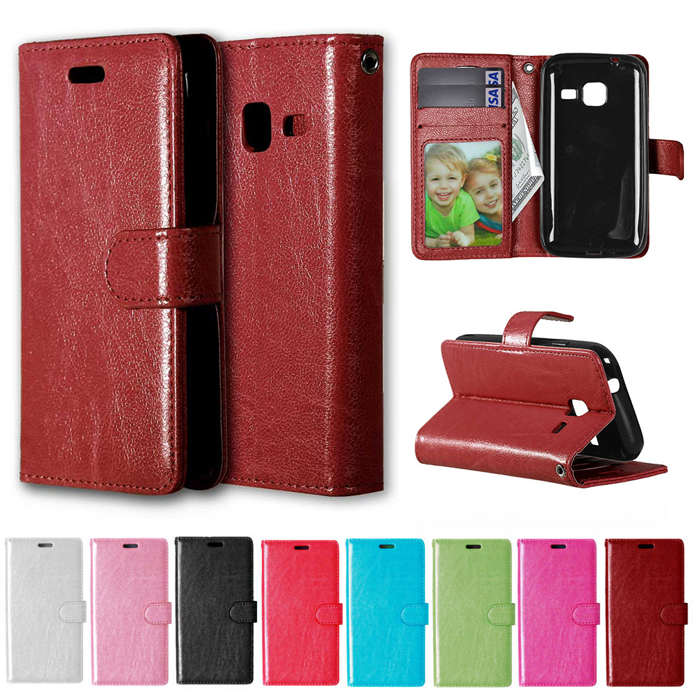 Flip Case for Samsung Galaxy J1 J 1 105 mini 2016 J1mini J105 SM-J105 J105H SM-J105H J105i SM-J105i J105B Phone Leather Cover