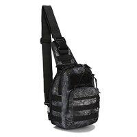 Fashion And New Camping Shoulder Strap Bag Shoulder Bag Single Strap Bicycle Backpack Hiking Backpacks Black