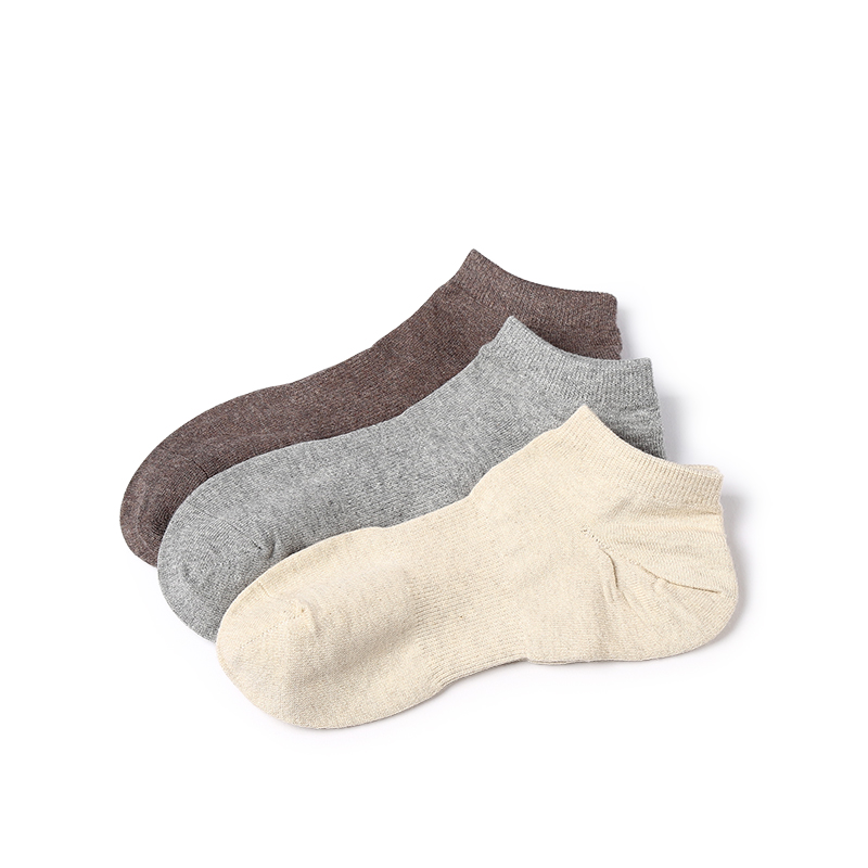 VVQI Spring summer pure color socks mens breathable black boat socks mens ankle socks marvel fashion dress socks gifts for men