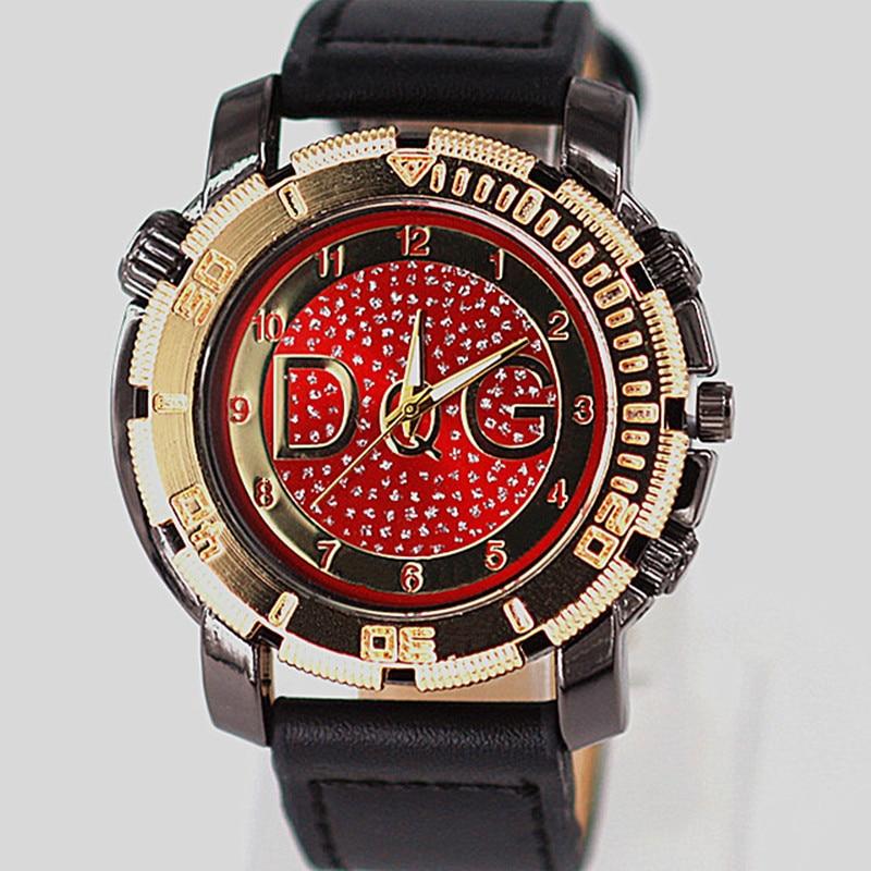 Relogio Masculino new Brand Fashion Watches Men s Quick sand Quartz Men Watch Bear Clock Leather
