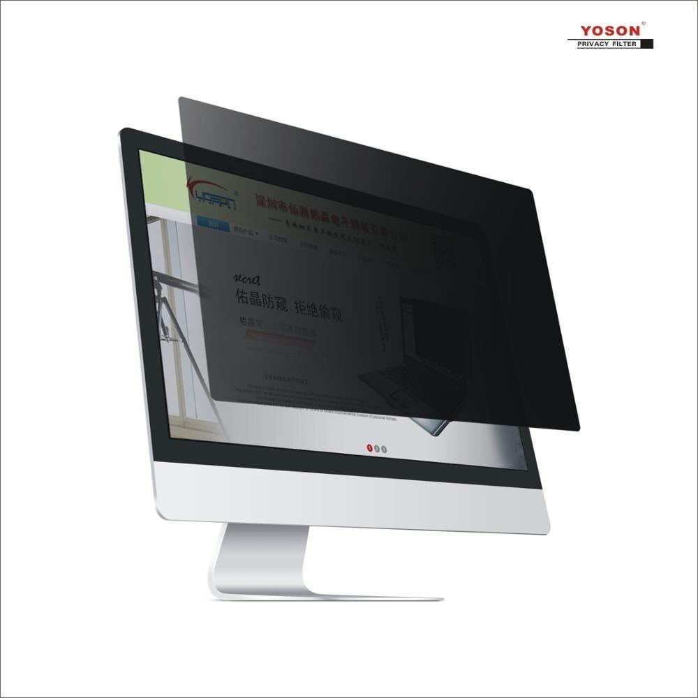 YOSON 27 pouces écran large 16:9 LCD écran filtre de confidentialité/film anti-peep/film anti-reflet